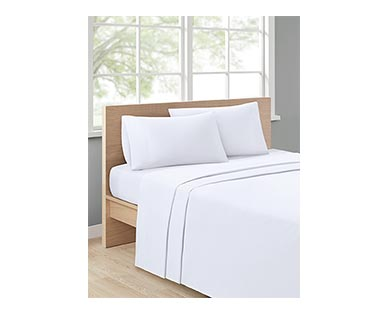 Huntington Home 500 Thread Count Anti-Allergen Sheet Set White In Use