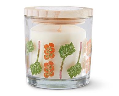 Huntington Home Farmstand Candle Collection Rhubarb & Tomato Vine