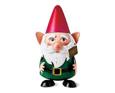 Belavi Metal Garden Figurine Gnome