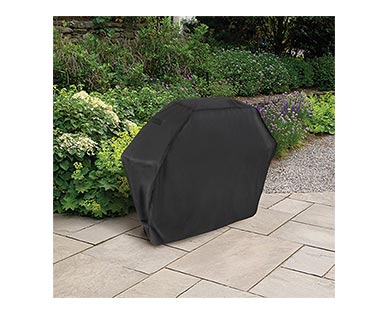 """Range Master 65"""" Gas Grill Cover In Use"""