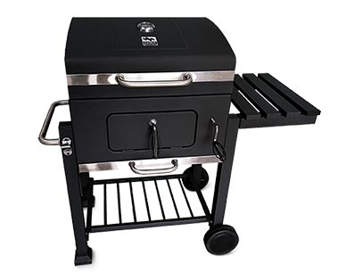 """Range Master Heavy-Duty 24"""" Deluxe Charcoal Grill View 1"""