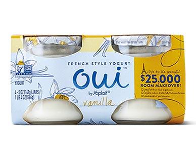 Oui Vanilla French Style Yogurt 4 pk