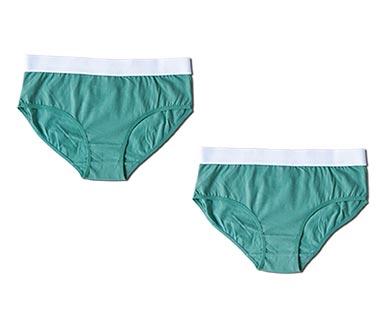 Serra Ladies' Twin Pack Briefs Green