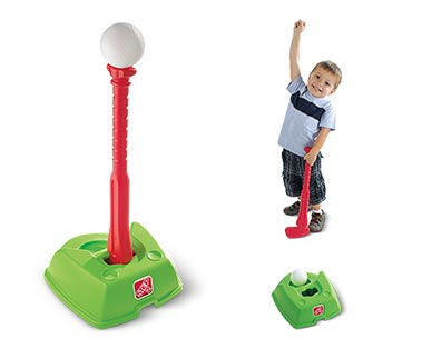 Step2 2-in-1 T-Ball and Golf Set In Use View 1