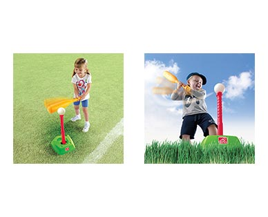 Step2 2-in-1 T-Ball and Golf Set In Use View 2