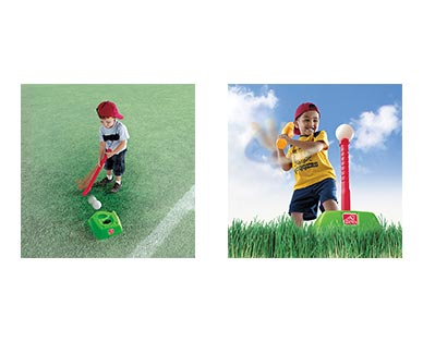 Step2 2-in-1 T-Ball and Golf Set In Use View 3