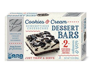 Belmont Cookies and Cream Dessert Bars