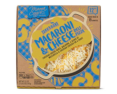 """Mama Cozzi's Pizza Kitchen 12"""" Macaroni & Cheese Deli Pizza"""