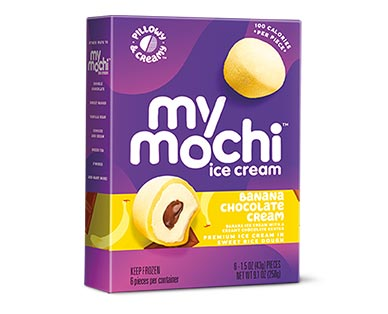 My/Mo Mochi Ice Cream Assorted Varieties Banana Chocolate Cream