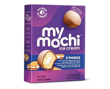 My/Mo Mochi Ice Cream Assorted Varieties S'Mores