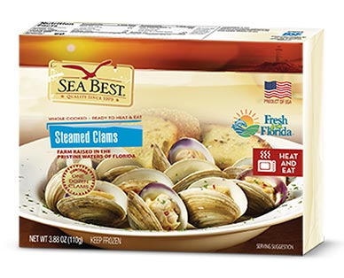 Sea Best Steamed Clams