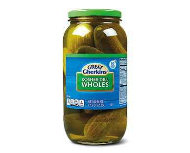 Great Gherkins Whole Pickles