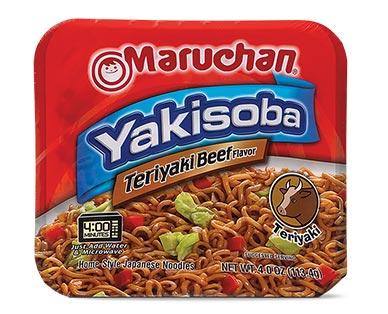 Maruchan Yakisoba Teriyaki Beef