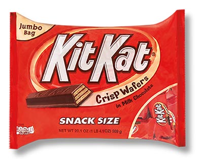Hershey's Kit Kat Snack Size Jumbo Bag