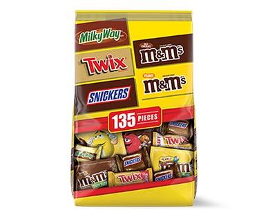 Mars Chocolate Favorites Fun Size Variety Mix 135 Pieces