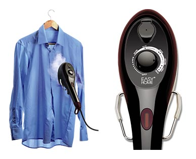 Easy Home Steam Iron & Garment Steamer In Use View 2
