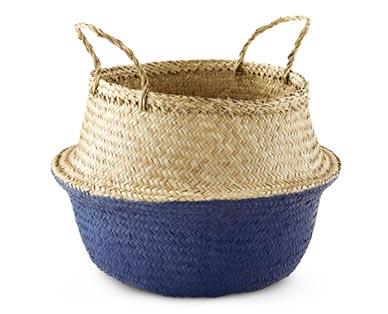 Huntington Home Pop-Up Basket Dark Blue