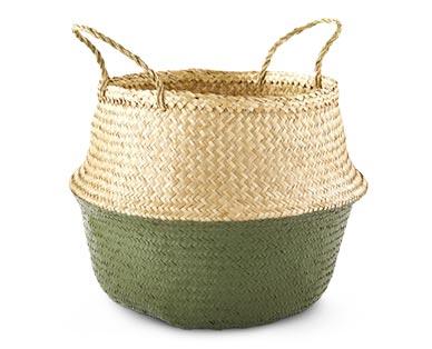 Huntington Home Pop-Up Basket Olive Green