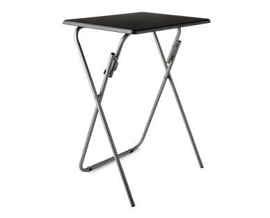 SOHL Furniture Folding Tray Table Black