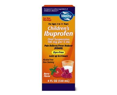 Welby Children's Ibuprofen View 1