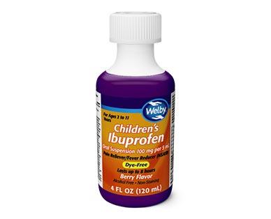 Welby Children's Ibuprofen View 2