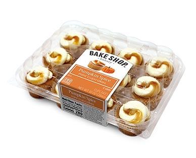 Bake Shop Mini Pumpkin Spice Cupcakes