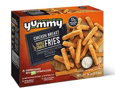 Yummy Panko Whole Grain Chicken Fries