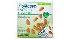 Fit and Active 100 Calorie Snack Pack Whole Almonds. View Details.
