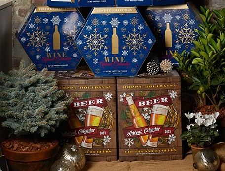 Wine and Beer Advent Calendars