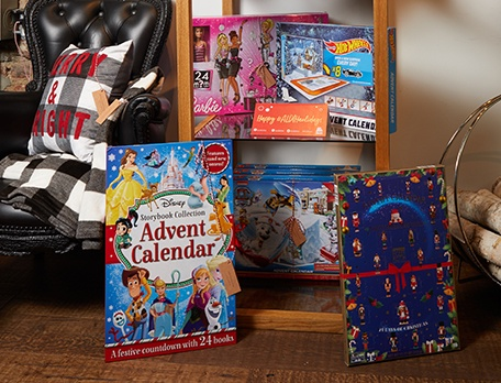 More advent calendars - toys and chocolate