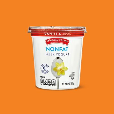 Friendly Farms Vanilla Nonfat Greek Yogurt