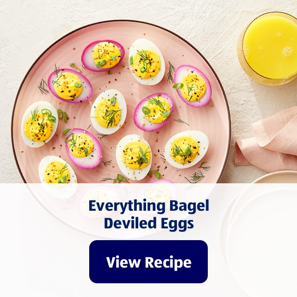 Everything Bagel Deviled Eggs. View Recipe.