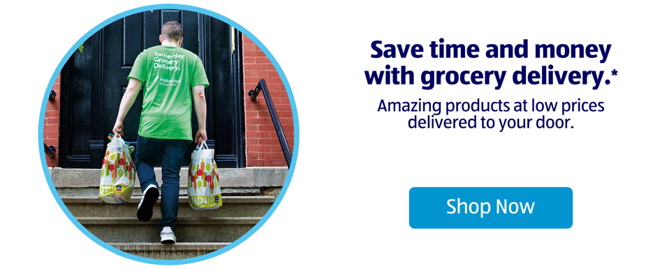 Save time and money with grocery delivery.* Amazing products at low prices delivered to your door. Shop now.