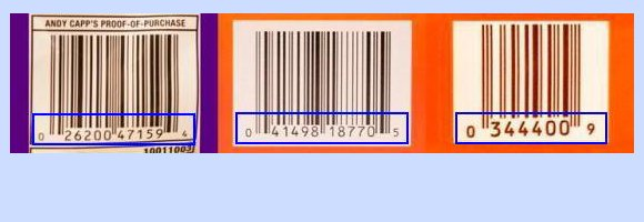 Universal Product Code Example