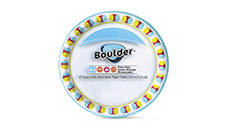 Boulder Decorated Paper Plates