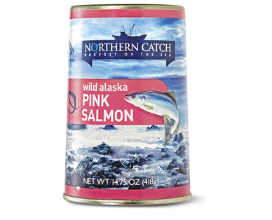 Northern Catch Pink Salmon