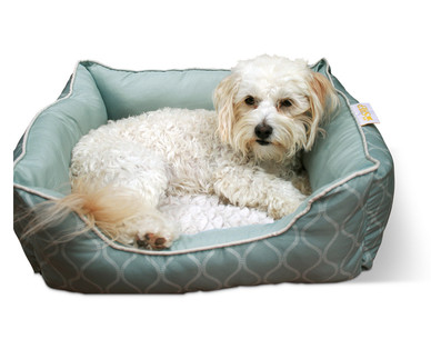 aldi us shep rectangle or round small pet bed. Black Bedroom Furniture Sets. Home Design Ideas