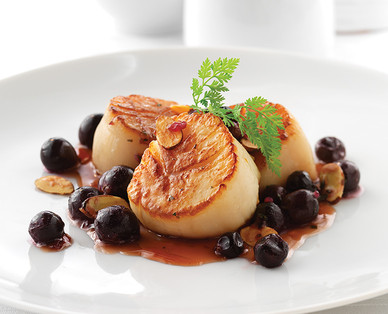 Aldi us specially selected jumbo scallops for Aldi international cuisine