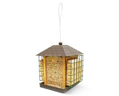 aldi us gardenline bird feeder. Black Bedroom Furniture Sets. Home Design Ideas