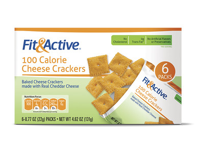 Aldi Us Fit Active 100 Calorie Cheese Crackers