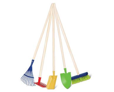 Aldi us gardenline children s garden tools for Aldi gardening tools 2016