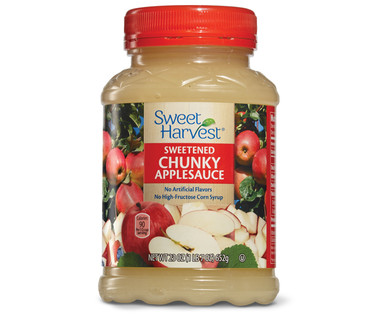 ... Specials Special Buys for April 20 Sweet Harvest Chunky Applesauce