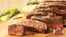 Fresh USDA Choice Top Sirloin Steak