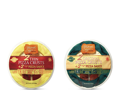 Mama Cozzi's Pizza Kitchen 2-Pack Pizza Crusts With Sauce