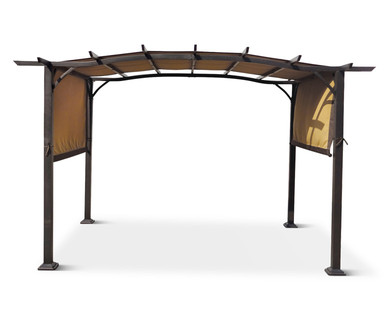 aldi us gardenline pergola. Black Bedroom Furniture Sets. Home Design Ideas