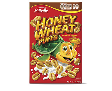 Millville Cereal Honey Wheat Puffs