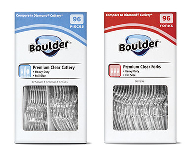 Boulder Clear Cutlery