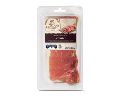 aldi us journey to europe black forest style schinken italian prosciutto or serrano jam n. Black Bedroom Furniture Sets. Home Design Ideas