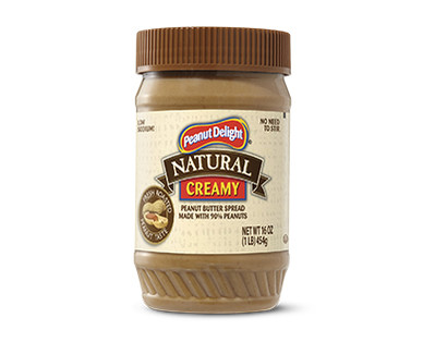 Peanut Delight Natural Creamy Peanut Butter