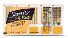Savoritz 4 Kids Cheese Dip & Breadsticks